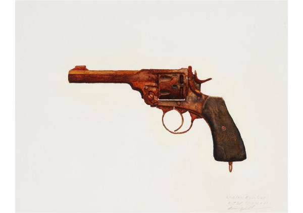 Robert Williams_Webley Revolver
