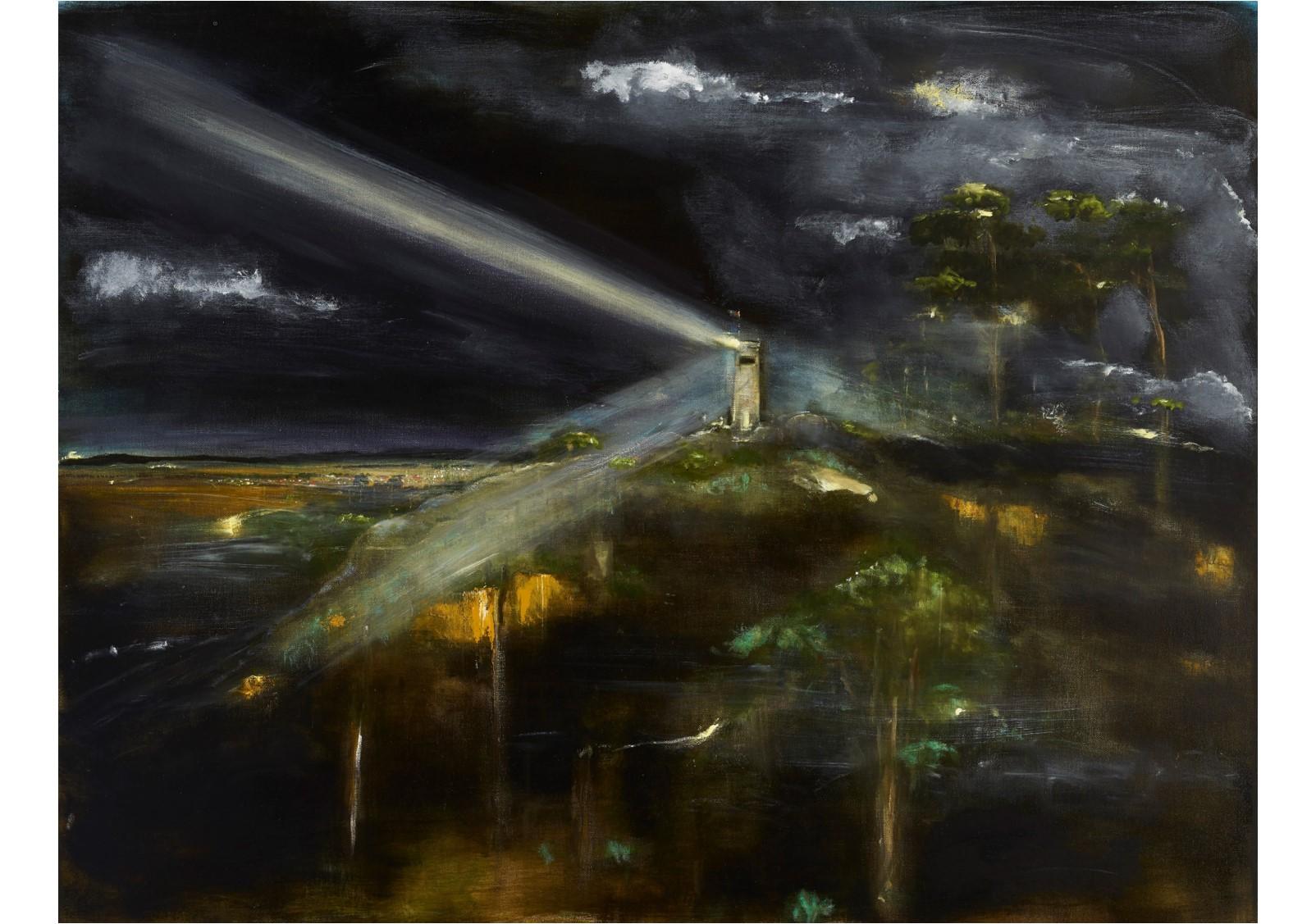 Rodney Pople_Gouldburn War Memorial at 3am