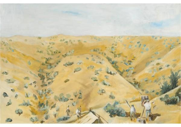 Hugh Tranter_Australian Signals Establishing Telephone Station Gallipoli 1915 1