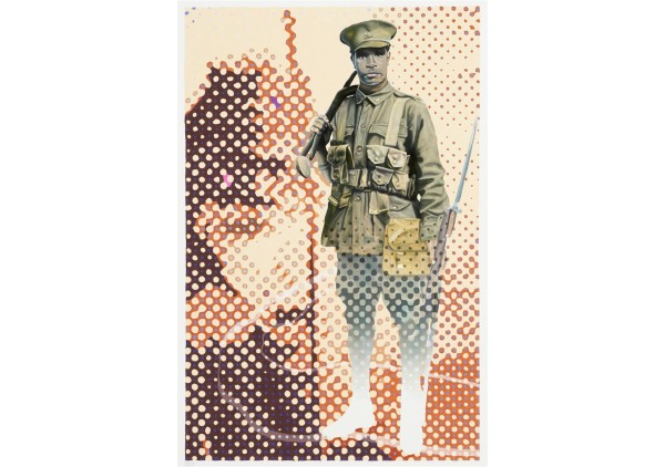John Skillington_Khaki and Ochre (hidden warriors) 1