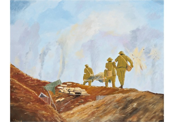 Robert Hammill_The Stretcher Bearers