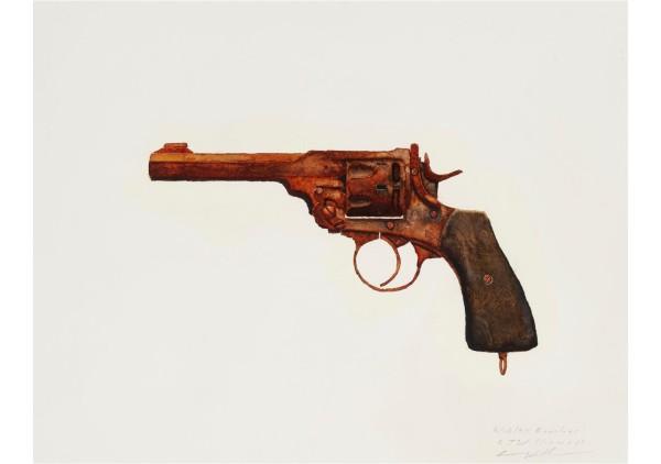 Robert Williams_Webley Revolver